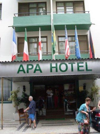 Apa Hotel: Frente do Hotel