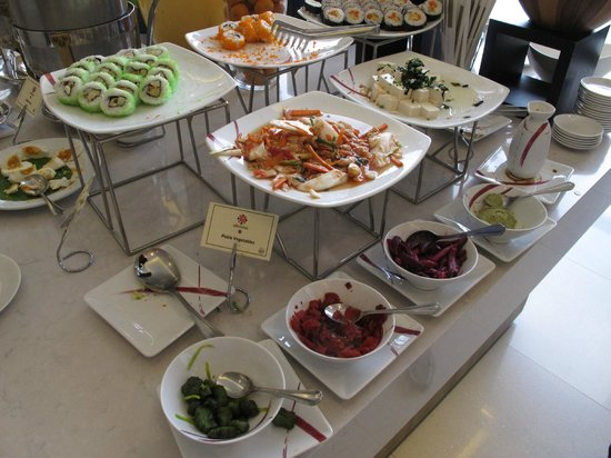 Chatrium Residence Sathon Bangkok : Breakfast chices