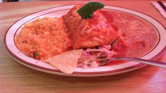 Gustavo's Mexican Restaurant & Bar : Burrito