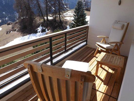 Hotel Paradies: Room balcony
