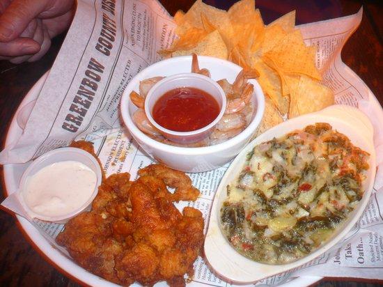 Bubba Gump Shrimp Co. : starters