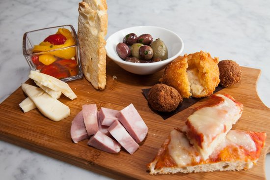 Church Aperitivo Bar: Complimentary Appetizers