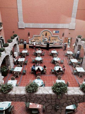 Holiday Inn Express Guanajuato: Área del comedor