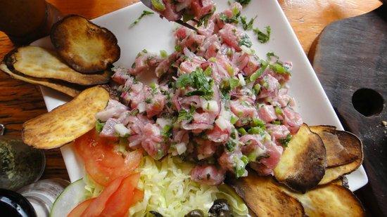 Casa Esquina Isla de Pascua: Ceviche de Atún