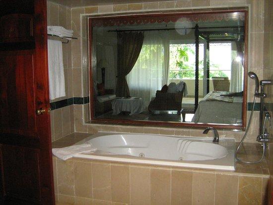 Luxury Bahia Principe Cayo Levantado Don Pablo Collection : View from bathroom into bedroom