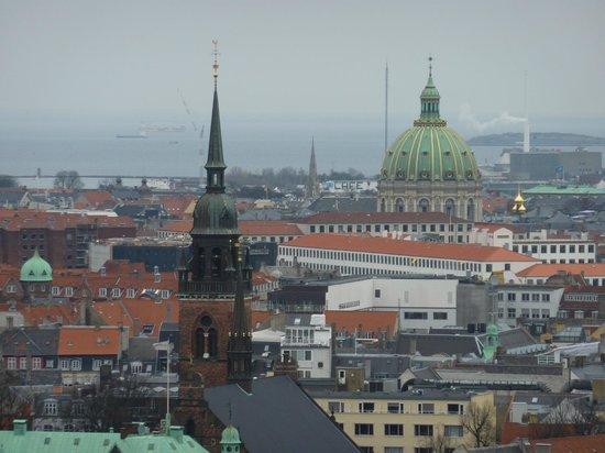 Rathaus Kopenhagen: Copenhagen from the tower of the City Hall