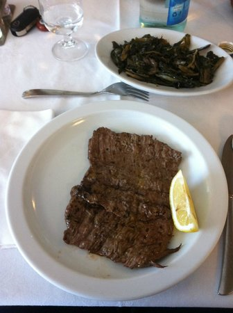 Trattoria al Cavallino Conche srl: il secondo carne di cavallo con contorno