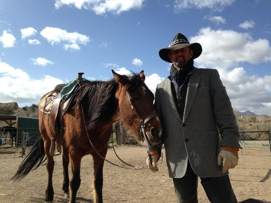 Broken Saddle Riding Company: Rod, a very easygoing guide w/ lots of local knowledge to share