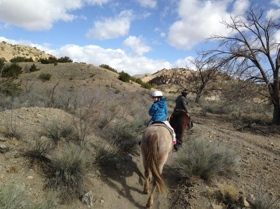 Broken Saddle Riding Company: On the trail in March
