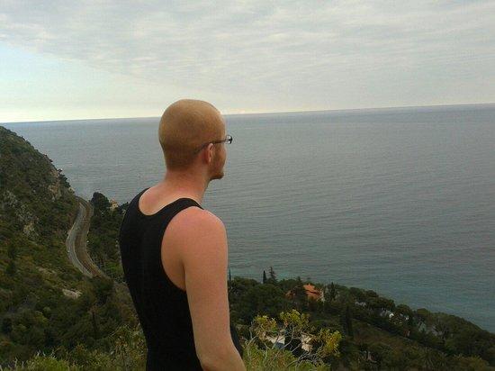 Nietzsche Path: Beautiful view