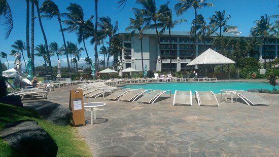 Fairmont Orchid, Hawaii : Unused reserved seating