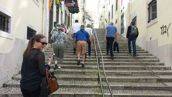 Lisbon Urban Adventures: Yes....walking up hill☆♡