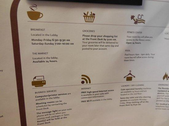 Residence Inn Toronto Markham : free wifi