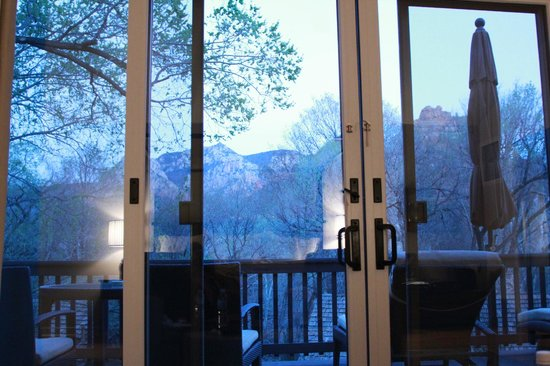 L'Auberge de Sedona : View from previous stay at a Vista Room