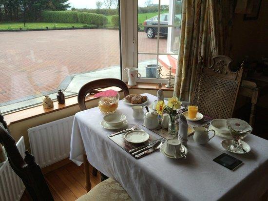 Castle House: Breakfast