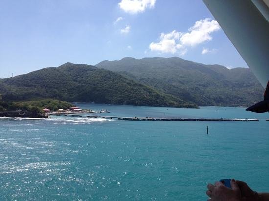 Labadee: view from boat