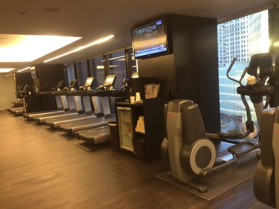 The Langham, Chicago: Fitness room
