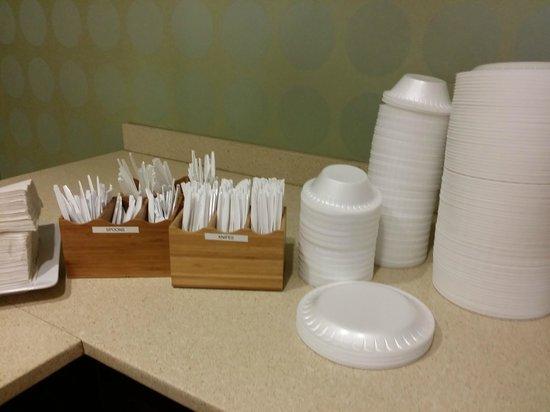 Fairfield Inn & Suites Orlando International Drive/Convention Center: Platikbesteck