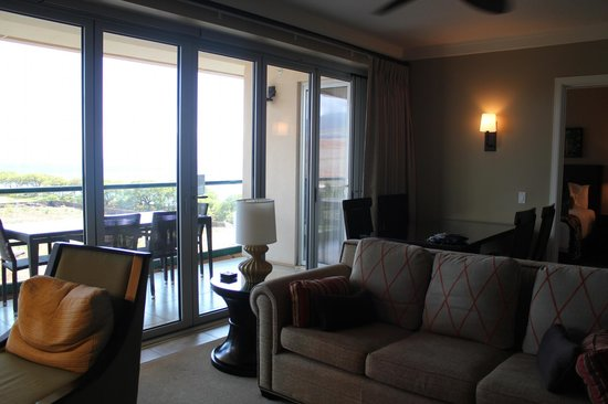 Honua Kai Resort & Spa : livingroom