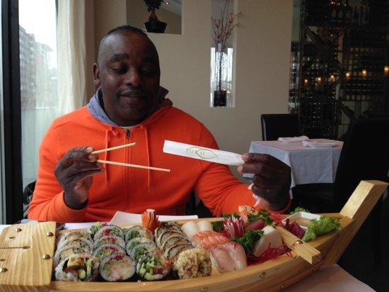 Yoko: Service et menu très satisfaisants