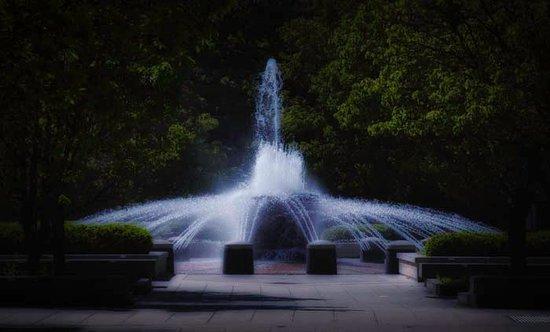 Purdue University: A Campus Fountain