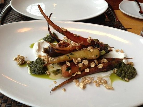 Vermilion Restaurant: Roast Carrot Appetizer