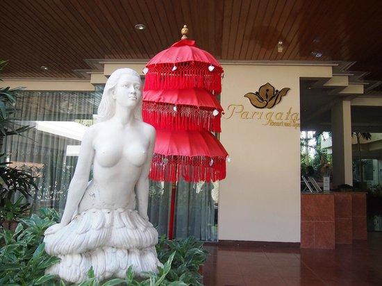 Parigata Resort & Spa: エントランス