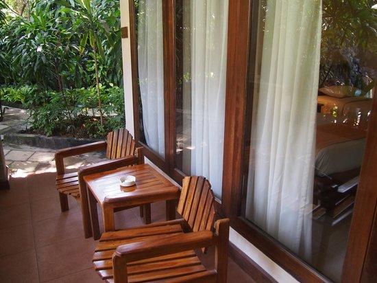 Parigata Resort & Spa: ベランダ