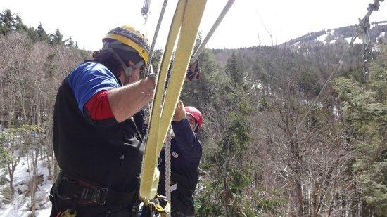 Bretton Woods Canopy Tour: zip