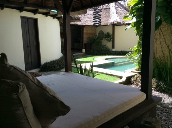 Jimbaran Bay Villas: View from Bali hut