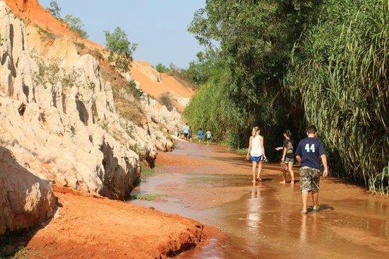 Fairy Stream (Suoi Tien): you wade through with bare feet
