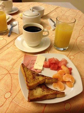Antawasi Hotel : breakfast