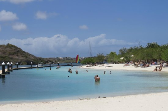 Santa Barbara Beach & Golf Resort, Curacao: Beach area