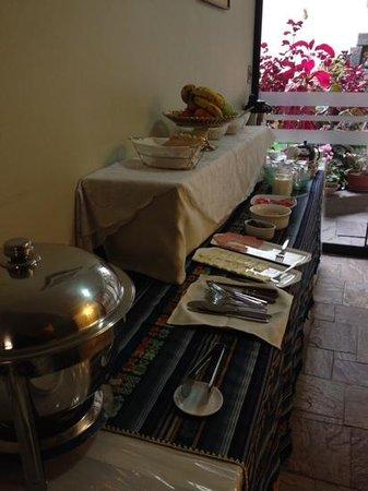 Antawasi Hotel: breakfast area