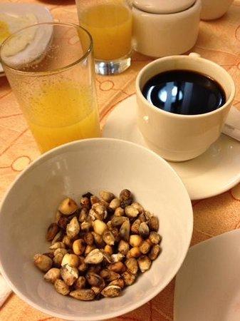 Antawasi Hotel: tostado de maiz