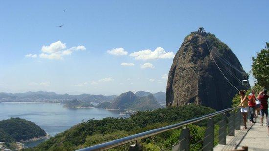 Morro da Urca: Vista del Pao de Acucar desde el Morro de Urca