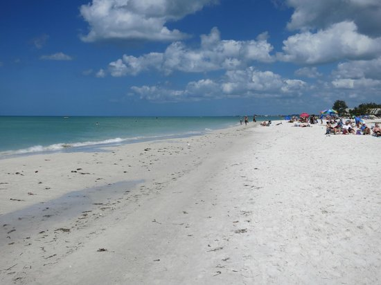 Siesta Beach: Norra delen av Siesta Key Public Beach