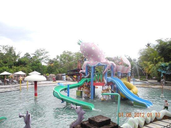 Bali Safari & Marine Park : Aqua park (only a part of it)