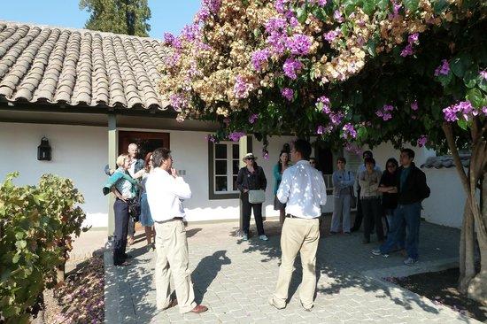 Santa Rita Winery: Bemerkenswert kundiger Führer