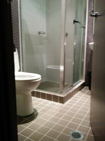 Pensione Hotel Sydney - by 8Hotels: love the shower head!