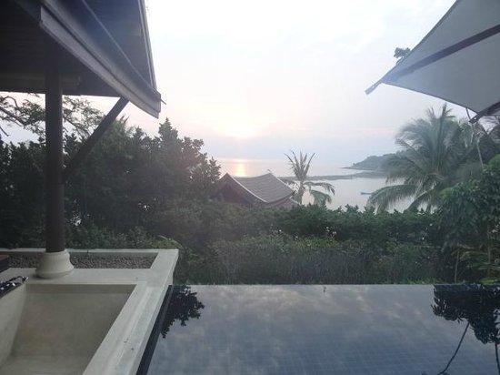 Anantara Lawana Koh Samui Resort: view from private pool