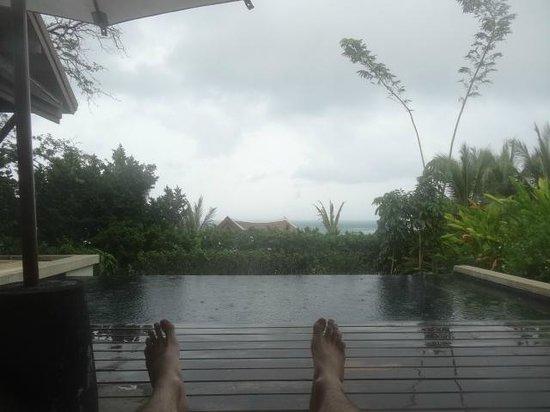 Anantara Lawana Koh Samui Resort: View from sun loungers