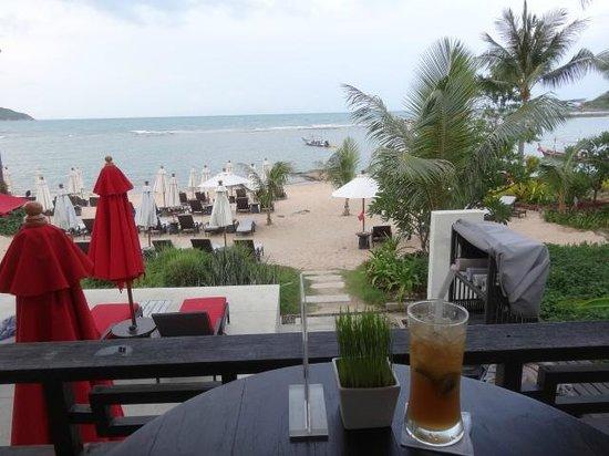 Anantara Lawana Koh Samui Resort: view from the beach/pool bar
