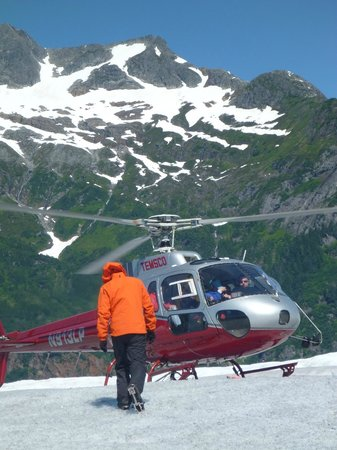 Mendenhall Glacier : Helicopter tour