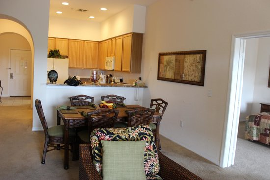Caribe Cove Resort Orlando: Sala / cozinha
