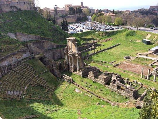 Teatro Romano (Roman Theater & Baths): Vista de cima