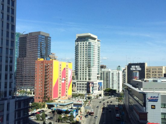 JW Marriott Los Angeles L.A. LIVE: View from our room
