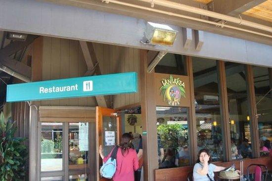 Laniakea Cafe Kona International Airport Koa Hawaii
