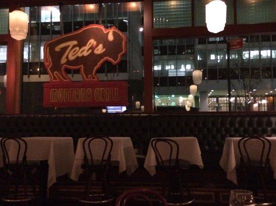 Ted's Montana Grill : Interno del locale