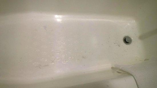 Crowne Plaza Times Square Manhattan: Scratched bathtub...